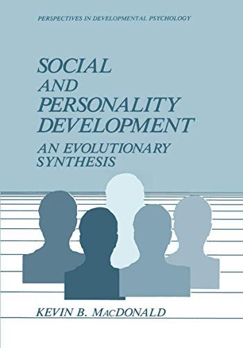 9780306428913: Social and Personality Development: An Evolutionary Synthesis (Perspectives in Developmental Psychology)