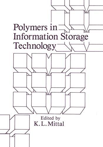 Polymers in Information Storage Technology: K.L. Mittal