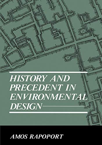 9780306434297: History and Precedent in Environmental Design