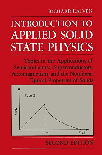 9780306434341: Introduction to Applied Solid State Physics: Topics in the Applications of Semiconductors, Superconductors, Ferromagnetism, and the Nonlinear Optical Properties of Solids