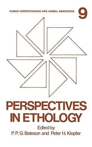 Perspectives in Ethology: Volume 9: Human Understanding: Klopfer, P. H.,