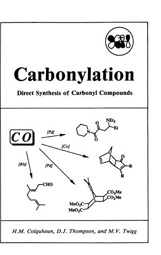 9780306437472: Carbonylation: Direct Synthesis of Carbonyl Compounds (Institute for Amorphous Studies)