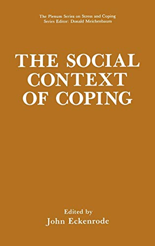 9780306437830: The Social Context of Coping