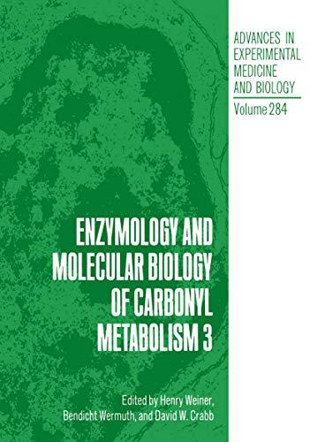 9780306438127: Enzymology and Molecular Biology of Carbonyl Metabolism 3 (Advances in Experimental Medicine & Biology) (v. 3)
