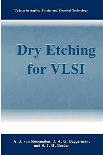 Dry Etching for VLSI: Van Roosmalen, A. J.