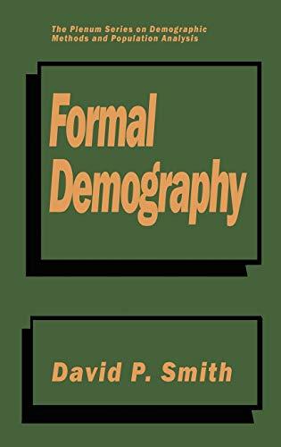 9780306438691: Formal Demography