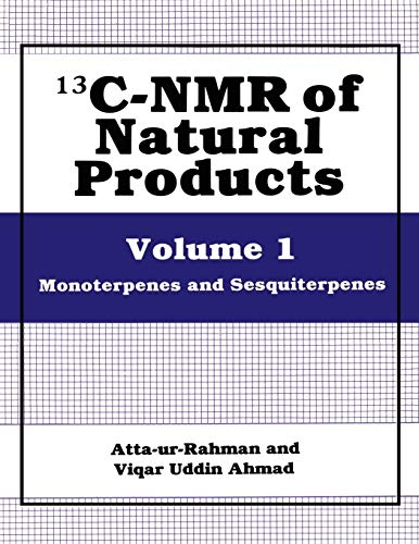 13C-NMR of Natural Products: Volume 1 Monoterpenes