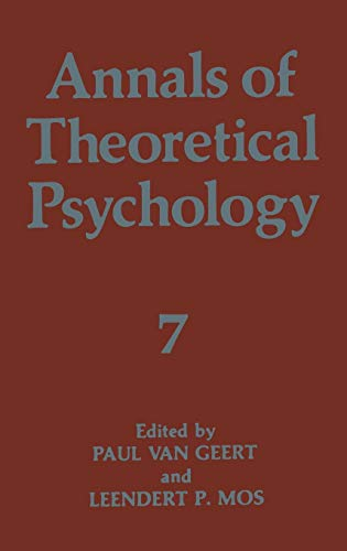 9780306440533: Annals of Theoretical Psychology: v. 7