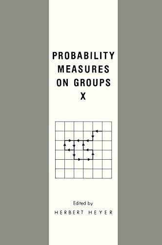 9780306440595: Probability Measures on Groups X (NATO Asi Series B. Physics; 277) (No. 10)