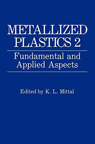 9780306441073: Metallized Plastics 2: Fundamental and Applied Aspects (v. 2)