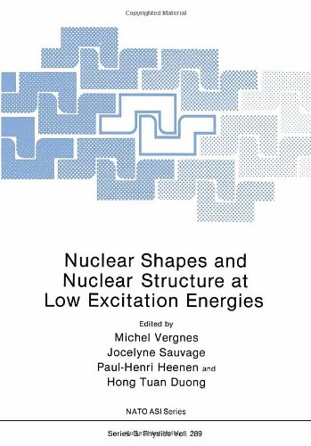 9780306441950: Nuclear Shapes and Nuclear Structure at Low Excitation Energies (NATO Science Series B: Physics)