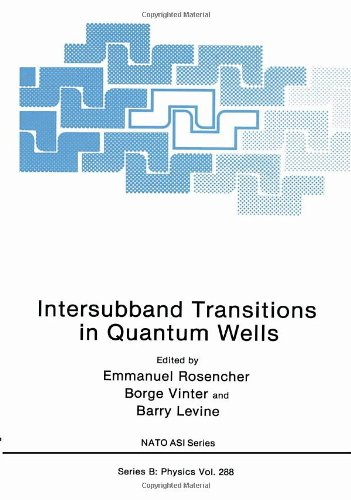 9780306442049: Intersubband Transitions in Quantum Wells: Proceedings of a NATO Advanced Research Workshop Held in Cargese, France, September 9-14, 1991 (NATO Science Series B: Physics)