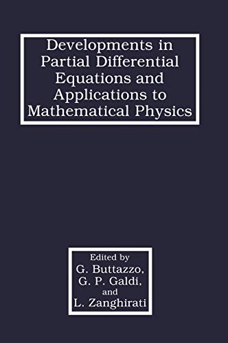Developments in Partial Differential Equations and Applications to Mathematical Physics: Buttazzo, ...