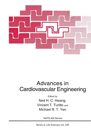9780306443138: Advances in Cardiovascular Engineering (Nato Science Series A:)