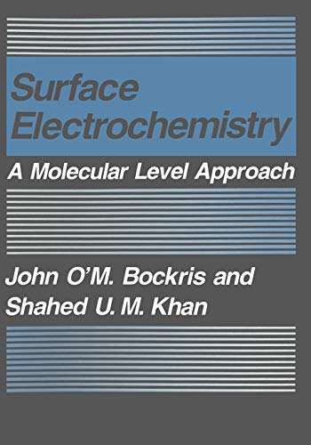 9780306443398: Surface Electrochemistry: A Molecular Level Approach