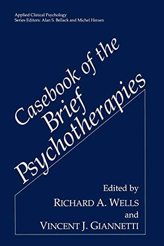 9780306443930: Casebook of the Brief Psychotherapies (Nato Science Series B:)