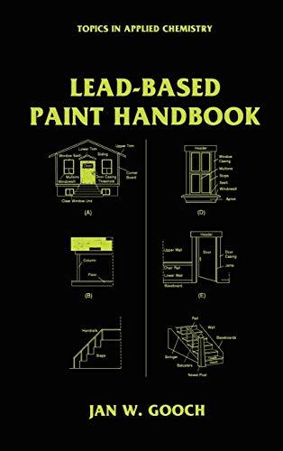 Lead-Based Paint Handbook: Jan W. Gooch