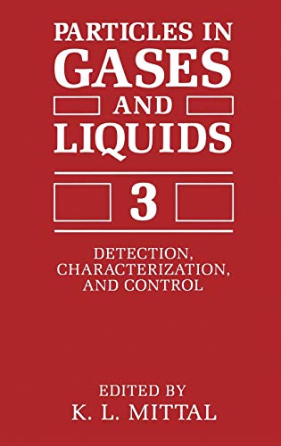 Particles in Gases and Liquids 3: Detection,