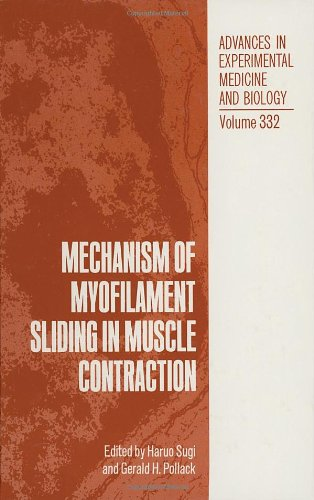 9780306445255: Mechanism of Myofilament Sliding in Muscle Contraction (Advances in Experimental Medicine and Biology)