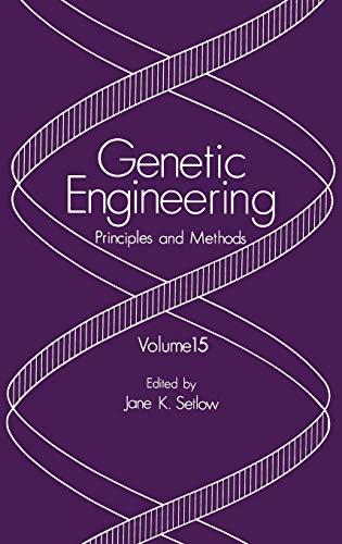 Genetic Engineering Principles and Methods