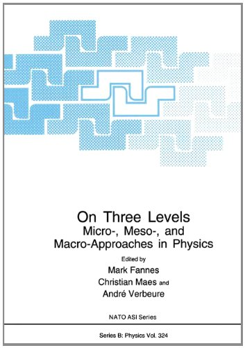 On Three Levels: Micro-, Meso-, and Macro-Approaches