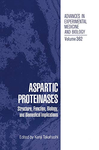 9780306448300: Aspartic Proteinases: Structure, Function, Biology, and Biomedical Implications
