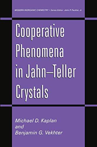 9780306449284: Cooperative Phenomena in Jahn-Teller Crystals (Modern Inorganic Chemistry)