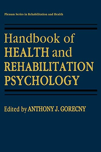 Handbook Of Health And Rehabilitation Psychology (Hb)