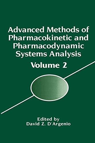 9780306450181: 002: Advanced Methods of Pharmacokinetic and Pharmacodynamic Systems Analysis: Volume 2