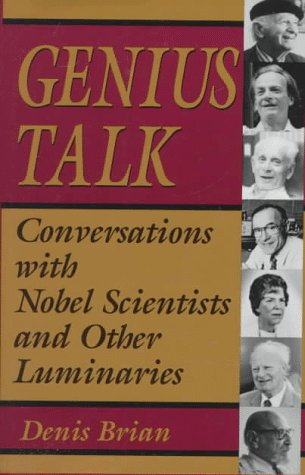 9780306450891: Genius Talk: Conversations With Nobel Scientists and Other Luminaries