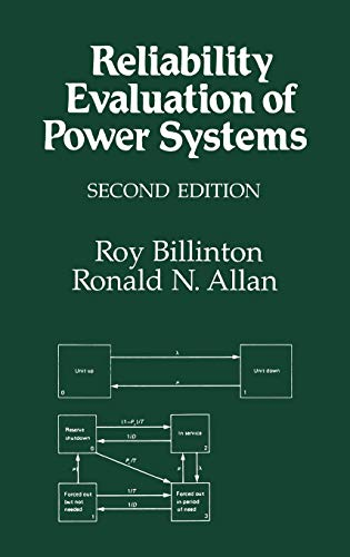 9780306452598: Reliability Evaluation of Power Systems