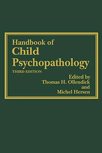 9780306453212: Handbook of Child Psychopathology (Issues in Clinical Child Psychology)