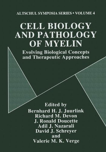 9780306455957: Cell Biology and Pathology of Myelin: Evolving Biological Concepts and Therapeutic Approaches (Altschul Symposia)