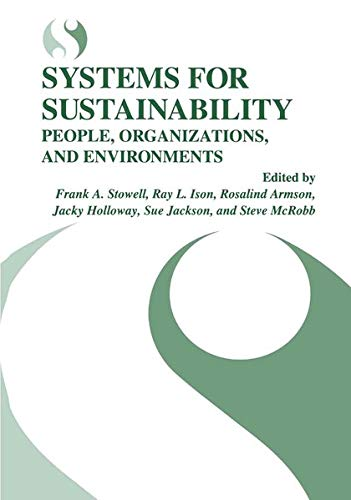 Systems for Sustainability: Rosalind Armson
