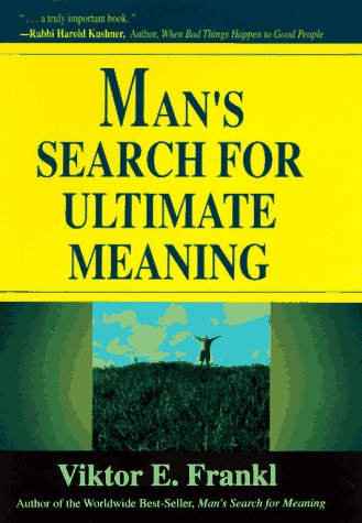 9780306456206: Man's Search For Ultimate Meaning