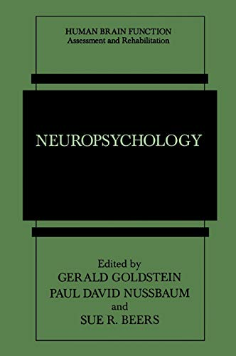9780306456466: Neuropsychology (Human Brain Function: Assessment and Rehabilitation)