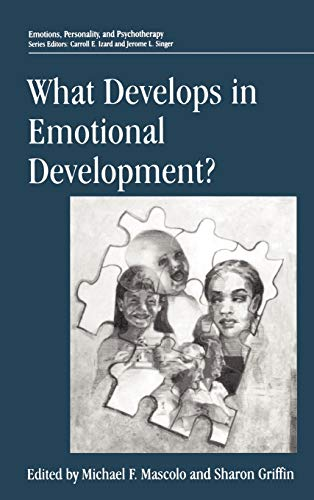 9780306457227: What Develops in Emotional Development? (Emotions, Personality, and Psychotherapy)