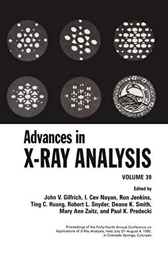 9780306458033: Advances in X-Ray Analysis, Vol. 39
