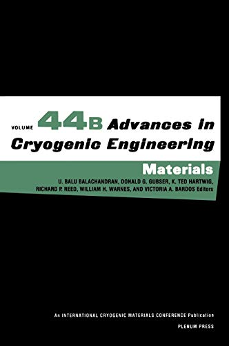 9780306459184: Advances in Cryogenic Engineering Materials: Structural and Cryocooler Materials Pt. A & C