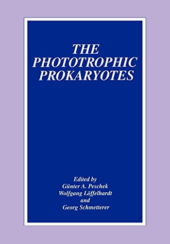 The Phototrophic Prokaryotes: Springer