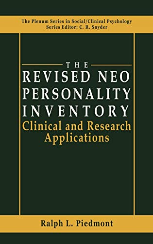 9780306459436: The Revised NEO Personality Inventory: Clinical and Research Applications (The Springer Series in Social Clinical Psychology)