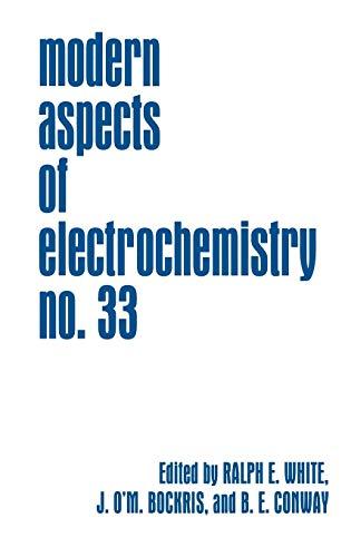 9780306459689: 33: Modern Aspects of Electrochemistry