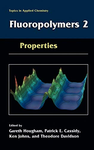 9780306460616: Fluoropolymers 2: Properties: Synthesis, and Fluoropolymers: Properties v. 2 (Topics in Applied Chemistry)