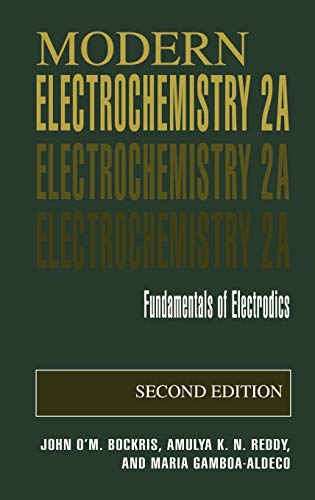 9780306461668: Modern Electrochemistry: Fundamentals of Electrodics: 2A