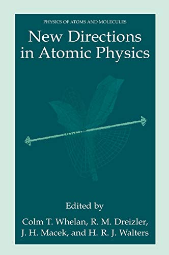 9780306461811: New Directions in Atomic Physics