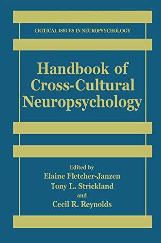 9780306463235: Handbook of Cross-Cultural Neuropsychology (Critical Issues in Neuropsychology)