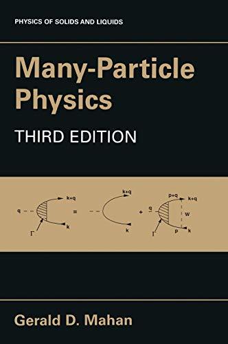 9780306463389: Many-Particle Physics
