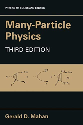 Many-Particle Physics: Gerald D. Mahan