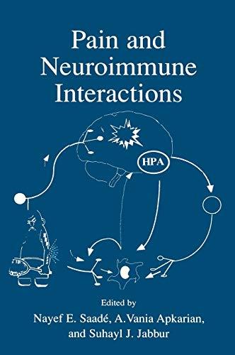 Pain and Neuroimmune Interactions: Nayef E. Saade