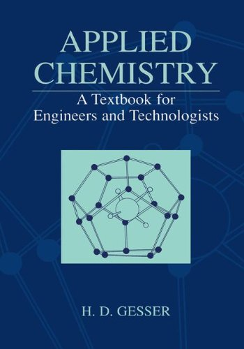 9780306465536: Applied Chemistry - A Textbook for Engineers and Technologists